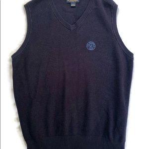 Brooks Brothers Sweater Vest Golf Cashmere Cotton